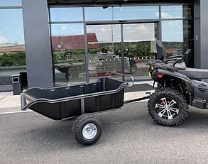 Прицеп для квадроцикла Shark ATV Trailer Garden 680kg 2 Колеса (Black)