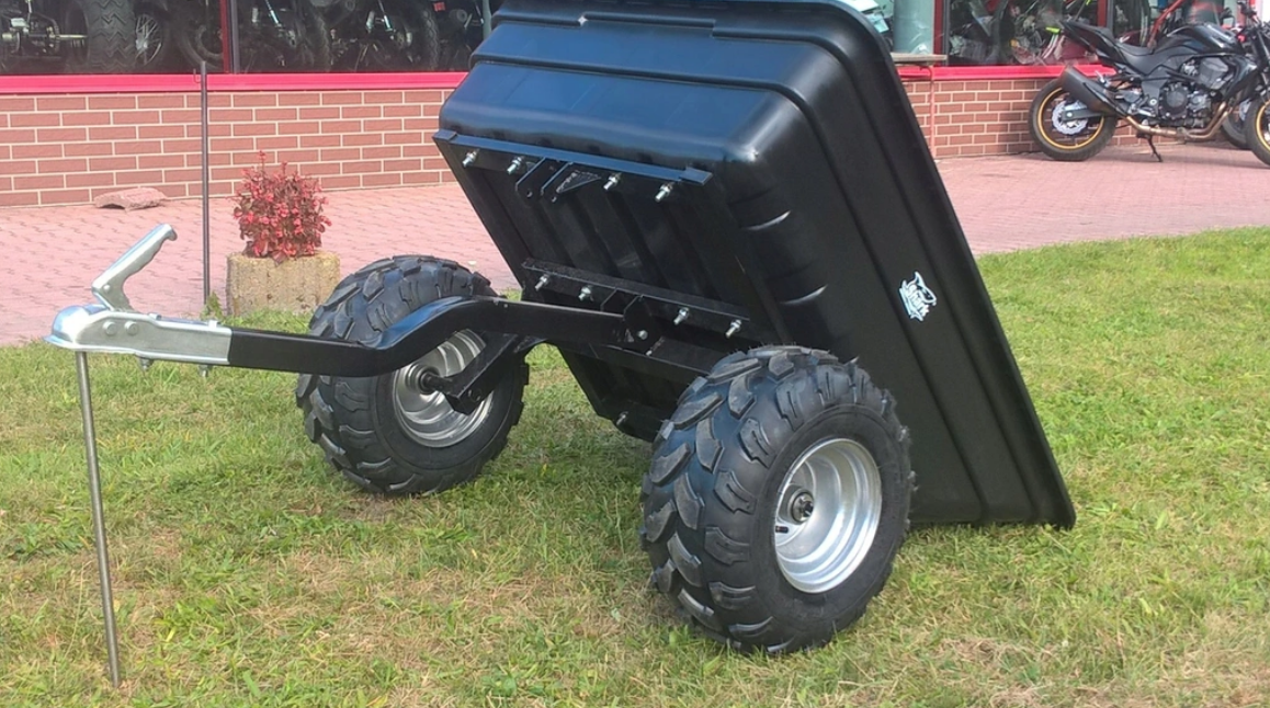 Прицеп для квадроцикла Shark ATV Trailer Garden 300kg (Black)