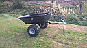 Прицеп для квадроцикла Shark ATV Trailer Garden 300kg (Black), фото 2