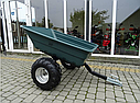 Прицеп для квадроцикла Shark ATV Trailer Garden 300kg (Black), фото 6