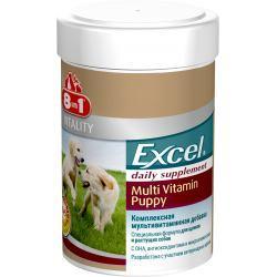 Вітаміни 8 in1 Excel Multi Vitamin Puppy 8 в1 Ексель Мульти Віт Паппi для цуценят 100 таб