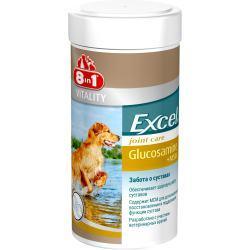 Вітаміни 8 in1 Excel Glucosamine + MSM 8 в1 Ексель Глюкозамін + МСМ для собак 55шт