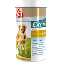 Вітаміни 8 in1 Excel Glucosamine 8 в1 Ексель Глюкозамін для собак 55 шт