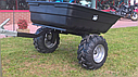 Прицеп для квадроцикла Shark ATV Trailer Garden 300kg (Black), фото 3