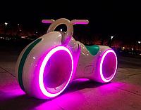 Беговел Star One Scooter, ТРОН Bluetooth LED-подсветка White заряд от USB