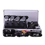Набор видеонаблюдения (4 камеры) AHD, фото 5
