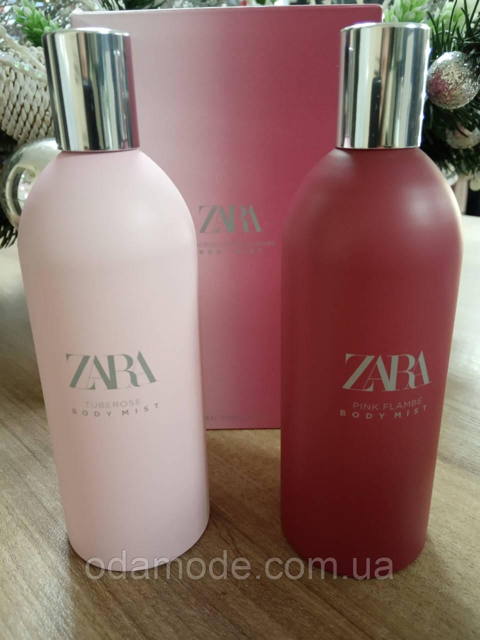Набор Body Mist Zara Tuberose+ Zara Pink Flambe 100+ 100 ml (Испания)