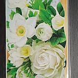 """Упаковка 10 штук конвертів для грошей """"Білі квіти"""", фото 4"""