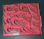"""Упаковка 10 штук конвертов для денег """"Красная роза"""", фото 2"""