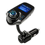 FM Модулятор трансмиттер T10 автомобильный Bluetooth MP3 AUX, фото 2