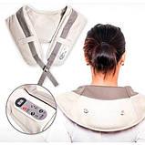 Ударный Вибромассажер для спины плеч и шеи Cervical Massage Shawls, фото 6
