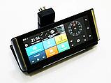 Видеорегистратор DVR K6 на торпеду -3 в 1 Android - Регистратор, GPS навигатор, камера заднего вида, фото 2