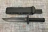 Большой охотничий нож с чехлом GERBFR 2348А 35см, фото 2