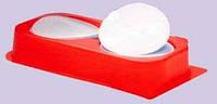 Фильтр мембранный N 1 (d:35 мм,h:0,1 мм, поры d:0,3-0,5 мкр), нитроцеллюлозный, 100 шт/уп.