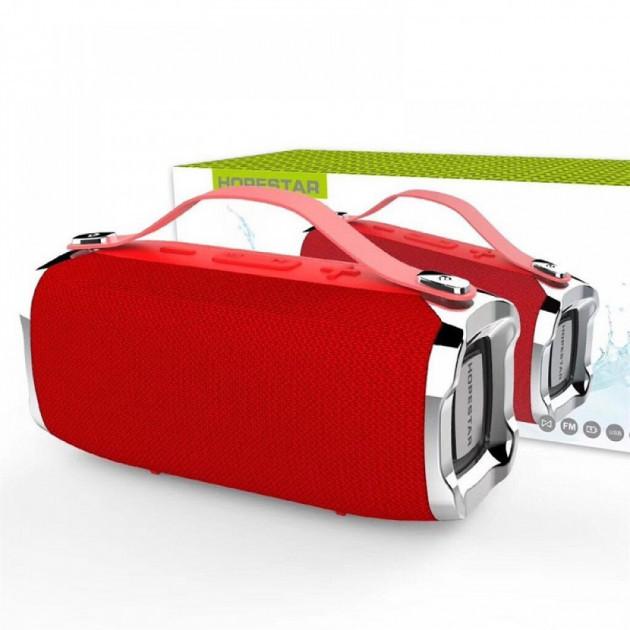 Портативная колонка Bluetooth HOPESTAR H-36 красный