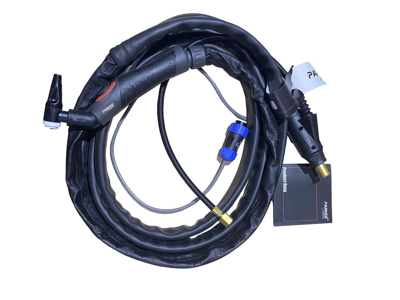Аргоновая горелка PARKER ( ABITIG-9 )  SGTSF125M-UM9-90-S1-12-SL-GS8-PERCP0BX 4 метра