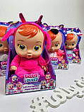 Пупс Плакса Cry Baby з пляшечкою, видає звуки 9349, фото 4