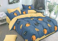 Постельное белье Апельсиновый мусс сатин ТМ Комфорт-Текстиль (Полуторный)