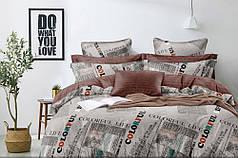 Постельное белье Печать сатин ТМ Комфорт-Текстиль (Полуторный)