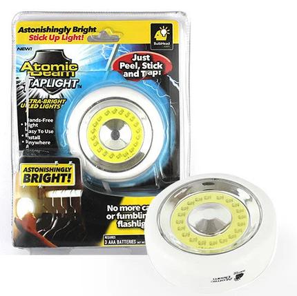 Универсальный точечный светильник Atomic Beam Tap Light | точечная подсветка, фото 2