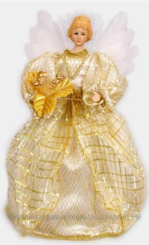 Новогодняя игрушка Ангел, 35см