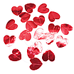 Гирлянда из зеркальных сердечек красная (2 метра), фото 3
