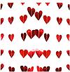 Гирлянда из зеркальных сердечек красная (2 метра), фото 5
