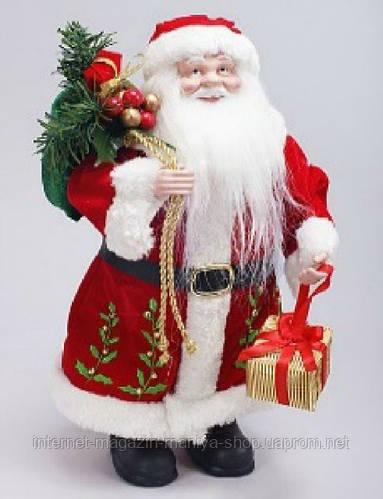 Новогоднее украшение Санта,30см