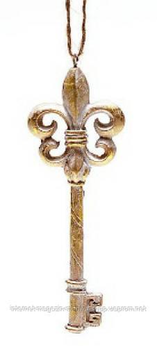 Елочное украшение ключик
