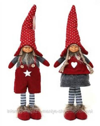 Новогодняя декоративная кукла в асс 3