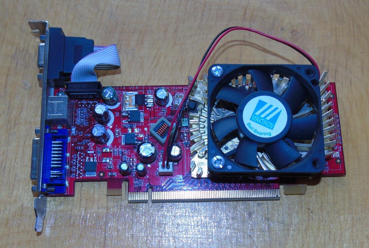 Видеокарта MSI GeForce 8400GS 256Mb GDDR2 64bit