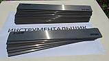 Заготовка для ножа сталь Х12МФ 230х42х3.3 мм термообработка (60 HRC) шлифовка, фото 3