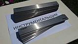 Заготовка для ножа сталь Х12МФ 230х42х3.3 мм термообработка (60 HRC) шлифовка, фото 4