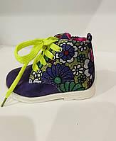Детские демисезонные ботинки для девочки Clibee (24р)