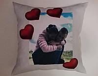 Декоративные подушки с любым принтом, фото