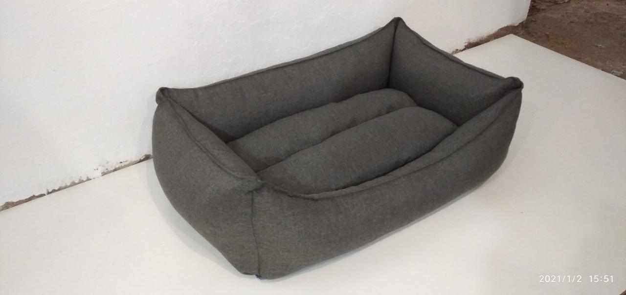 Теплый Лежак для собак Premium 90х60см, лежанка, лежанка для собак, Лежаки для животных