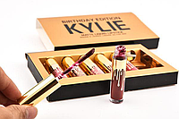 Набор матовых жидких помад Kylie Birthday, фото 1
