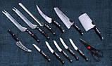Набір професійних ножів Miracle Blade World Class 13 шт, фото 3