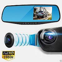Автомобильный Видеорегистратор зеркало DVR A1 с двумя 2 камерами, фото 1