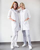 Медицинский халат Студент белый, фото 1