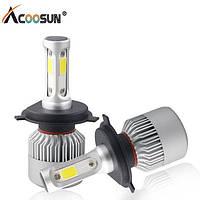 Комплект (2шт) светодиодных автомобильных ламп LED S2 H7 4Drive, фото 1