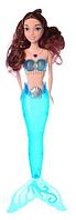 Кукла для девочек A 009-7 Русалка с голубым светящимся хвостом | русалочка | светящаяся куколка, фото 1