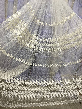 Красивый фатиновый тюль №304, фото 2