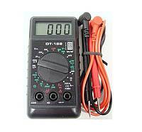 Мультиметр тестер вольтметр амперметр DT 182, фото 1