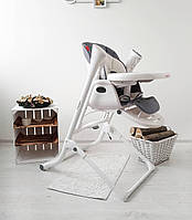 Стульчик для кормления с электро- качелью 3 в 1 CARRELLO Triumph,от сети Palette Grey