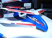 Радиоуправляемый самолет - биплан мини YT-102 (размах крыла 24 см) | самолет на радиоуправлении | самолетик, фото 1