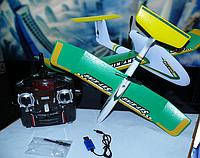 Радиоуправляемый самолет - планер мини YT-103 (размах крыла 36 см) | самолет на радиоуправлении | самолетик, фото 1