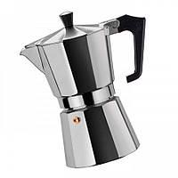 Гейзерна кавоварка з кованого алюмінію - 9 чашок Benson BN-157, фото 1