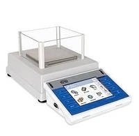 Весы RADWAG PS 450/3Y IIIкл (450/0,02/0,001г, платф.128х128 мм) внутр.калибровка