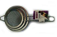 Набор сеточек для чая (8см+10см+12см) Benson BN-271   сеточка для чая   маленькое сито   ситечко для, фото 1